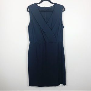 Brooks Brothers Blue Sheath Dress Size 14